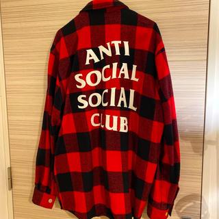 アンチ(ANTI)の美品人気送料込み アンチソーシャルソーシャルクラブネルシャツJK M(シャツ)