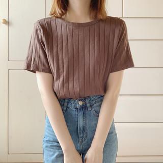 Lochie - brown rib tops