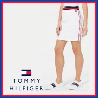 トミーヒルフィガー(TOMMY HILFIGER)の日本未入荷 ★トミー フィルフィガー サイド スカート ホワイト US/Sサイズ(ミニスカート)