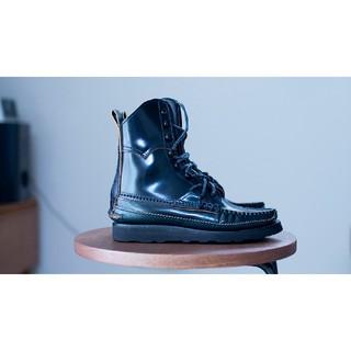 yuketen コードバン ネイビー ブーツ 6.5 24 靴