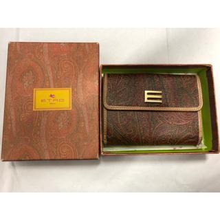 エトロ(ETRO)の箱無しETRO エトロ 財布 札入れ カードケース 小銭入れ コインケース(財布)