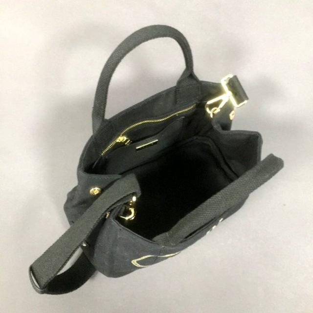 PRADA(プラダ)の ネロブラック2WAYバッグカナパ レディースのバッグ(ショルダーバッグ)の商品写真