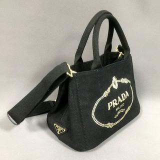 PRADA -  ネロブラック2WAYバッグカナパ