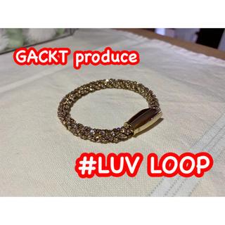 〜期間限定値下げ中〜 生産中止【#LUV】GACKTさん愛用  ブレスレット