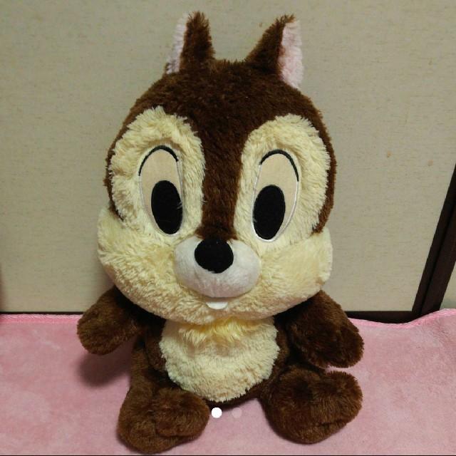 Disney(ディズニー)のチップ ぬいぐるみ(*´-`*) エンタメ/ホビーのおもちゃ/ぬいぐるみ(ぬいぐるみ)の商品写真