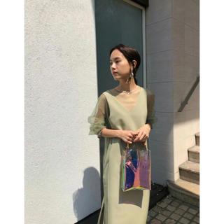 Ameri VINTAGE - 田中みな実さん着用アメリビンテージ パーティー ドレス 2020SS