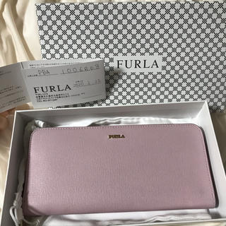 Furla - FURLA カメリアピンク長財布【匿名配送・送料込・箱付】