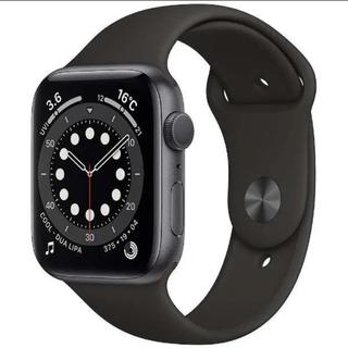 Apple Watch - Apple Watch series6 44ミリ スペースグレー