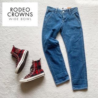 RODEO CROWNS WIDE BOWL - 新品タグ付『RCWB』テーパード ジーンズ/デニム 25 Lサイズ