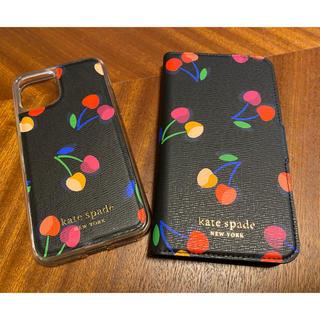 ケイトスペードニューヨーク(kate spade new york)のkate spade new york ♡iPhone ケース カバー チェリー(iPhoneケース)