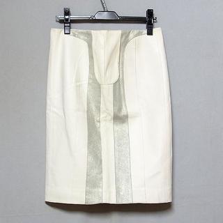 ロエベ(LOEWE)の【ロエベ/LOEWE】ラムレザー スカート サイズ40 イタリア製(ひざ丈スカート)