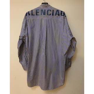Balenciaga - BALENCIAGA バレンシアガ ロゴプリントシャツ