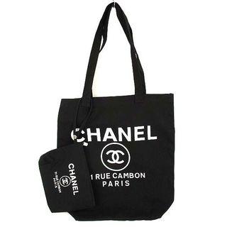 CHANEL - 未使用 シャネル ノベルティ ポーチ付き トートバッグ