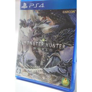 PlayStation4 - 【美品】モンスターハンター ワールド PS4