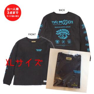 マンウィズアミッション(MAN WITH A MISSION)の【完売】MAN WITH A MISSION お一人フェスロンT グレー/ネオン(ミュージシャン)