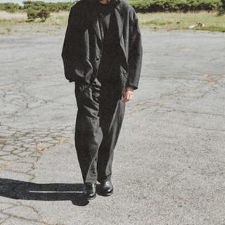 COMOLI - 新品 20AW COMOLI ウールシルク ドローストリングパンツ