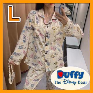 Disney - 新品!ダッフィーフレンズ☆パジャマ☆ルームウェア☆上下セット☆ディズニー☆長袖