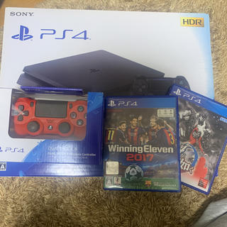 PlayStation4 - 欠品なし、美品! プレステ4 PS4本体 コントローラ2個+ソフト3本付き