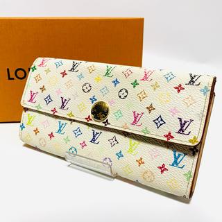 LOUIS VUITTON - ルイヴィトン Louis Vuitton マルチカラー 長財布 サラ レディース