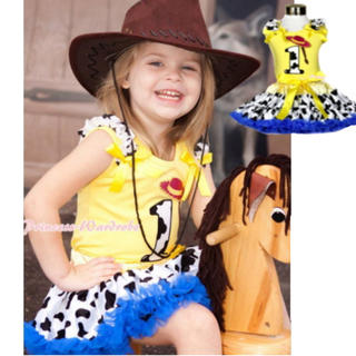トイストーリー(トイ・ストーリー)のディズニー ハロウィン キッズ カウガール 子供 女の子  100 (衣装)