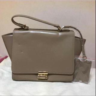 リエンダ(rienda)のリエンダ 鞄 バッグ BAG 2way ベージュ ハンドバッグ ショルダーバッグ(ショルダーバッグ)
