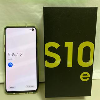 Galaxy - SIMフリー★Galaxy S10e Dual SIM SM-G970F/DS