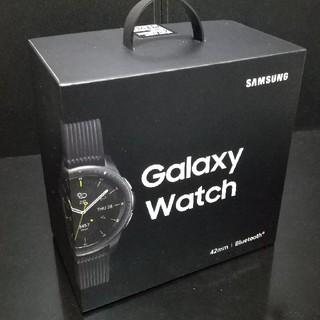 ギャラクシー(Galaxy)のGalaxy watch  42mm SM-R810 最新モデル(腕時計(デジタル))