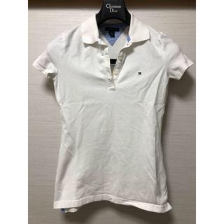 トミーヒルフィガー(TOMMY HILFIGER)のアメリカ正規店購入トミーヒルフィガーポロシャツ白XS(ポロシャツ)