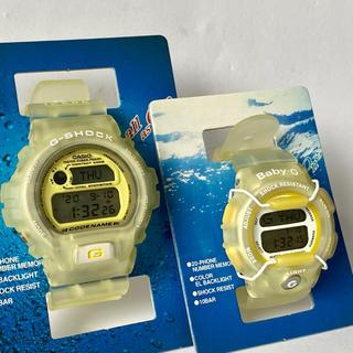 ジーショック(G-SHOCK)の【未使用】カシオ Gショック ペア イルクジ DW-6910K BG-350K(腕時計(デジタル))