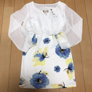 デイジーストア(dazzy store)の新品未使用デイジーストア♡花柄ドレス(ナイトドレス)