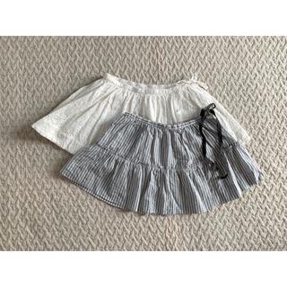 ボンポワン(Bonpoint)の*美品 ボンポワン スカート 2枚set(スカート)