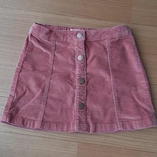 ザラキッズ(ZARA KIDS)のにこ様専用☆ZARA kids 104cm コーデュロイスカート(スカート)