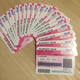 エーエヌエー(ゼンニッポンクウユ)(ANA(全日本空輸))の最新60枚 ANA 株主優待券(航空券)