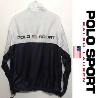 ポロラルフローレン(POLO RALPH LAUREN)のPOLO SPORT ナイロンジャケット ポロスポーツ ヴィンテージ ラルフ(ナイロンジャケット)