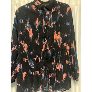 SHAREEF - shareef 定価3万 ペイントシャツ オーバーサイズ