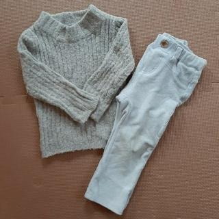 プティマイン(petit main)の【petit main】プチマイン他 女の子 冬服 セット(パンツ)
