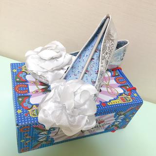 イレギュラーチョイス パンプス ブライダル 結婚式 25.5cm 26cm(ハイヒール/パンプス)