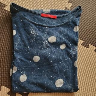 Design Tshirts Store graniph - graniph ロングTシャツ/ワンピース F