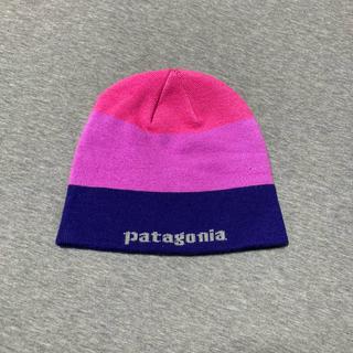 パタゴニア(patagonia)のpatagonia  ニット帽(ニット帽/ビーニー)