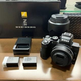 Nikon - 【新同品】Nikon Z50 ダブルズームキット、その他付属品