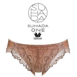 Wacoal - Wacoal/SUHADA・ONE/スハダ・ワン薔薇花柄ラッセルレースショーツ