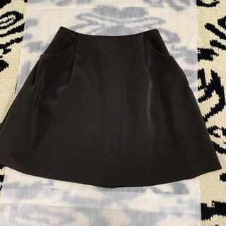FOXEY - FOXEY フォクシー イリプスフレア スカート40サイズ