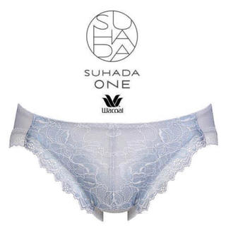 Wacoal - Wacoal/SUHADA・ONE ローズ薔薇花柄ラッセルレースショーツ