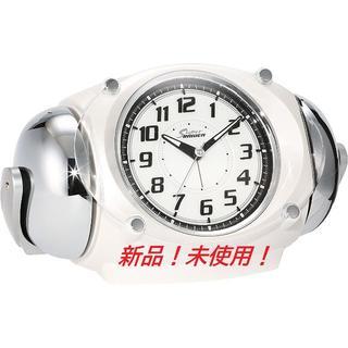 セイコー(SEIKO)の目覚まし時計 アナログ 大音量 NR438W(その他)