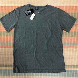 【新品】ZEKY  メンズ 無地 Tシャツ Lサイズ(Tシャツ/カットソー(半袖/袖なし))