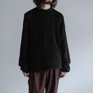 マーカウェア(MARKAWEAR)のMARKAWARE アルパカクルーネックニットセーター 本店限定サイズ5(ニット/セーター)