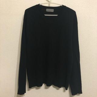 Yohji Yamamoto - ヨウジヤマモト Vネックニット セーター ブラック