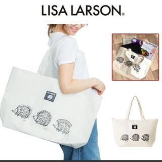 リサラーソン(Lisa Larson)のリサ ラーソン はりねずみ3兄弟トートバッグ(トートバッグ)