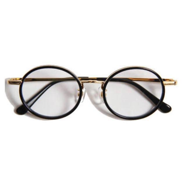 CALEE(キャリー)の希少 美品 CALEE CIRCLE TYPE GLASSES メンズのファッション小物(サングラス/メガネ)の商品写真