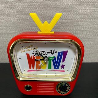 ジャニーズウエスト(ジャニーズWEST)のWESTV! 目覚まし時計(アイドルグッズ)